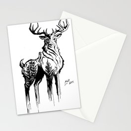 Needles & Antlers Stationery Cards