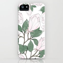 Magnolia. iPhone Case