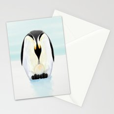Penguin Dad and his Egg Stationery Cards