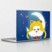 sailormoon Laptop & iPad Skins featuring SailorMoon MeyMey by Raimondo Tafuri