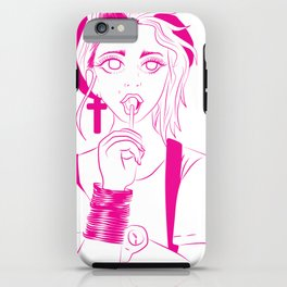 Like a virgin iPhone Case