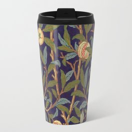 William Morris Bird And Pomegranate Travel Mug