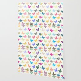 Colorful butterflies Wallpaper