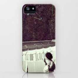 Happiness of the Housekeeper.. iPhone Case
