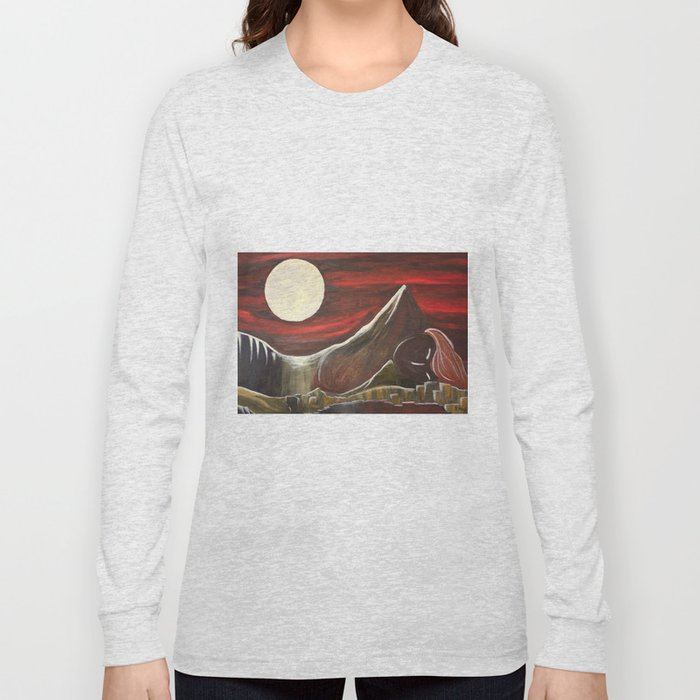 Gaia and Luna Grande Long Sleeve T-shirt