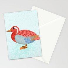 Orange Duck Stationery Cards