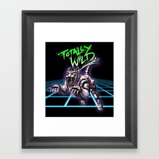 TOTALLY WILD Framed Art Print