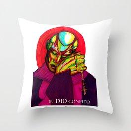 In Dio Confido Throw Pillow
