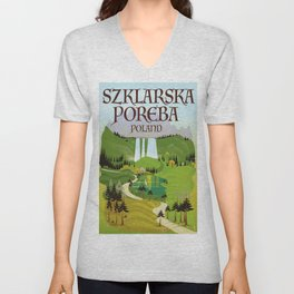 Szklarska Poreba Poland Unisex V-Neck