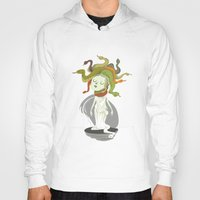 medusa Hoodies featuring Medusa by Rod Perich