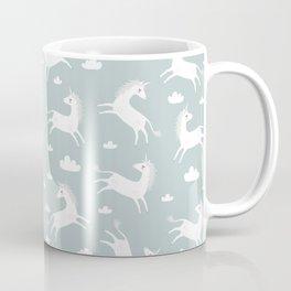 Unicorn with clouds Coffee Mug