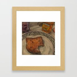 Peanut Butter and Jelly Sammich Framed Art Print