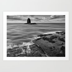 Black Nab Art Print