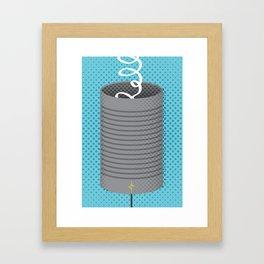 Can You Hear Me? Framed Art Print