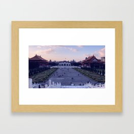 Memorial Hall – from PAPA Framed Art Print