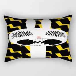 rabbit rage Rectangular Pillow