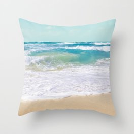 The Ocean Throw Pillow