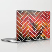 herringbone Laptop & iPad Skins featuring Herringbone by Alyssa Clancy