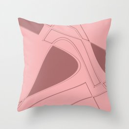 Amazing Pink Throw Pillow