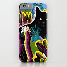 Koko in the Garden iPhone Case