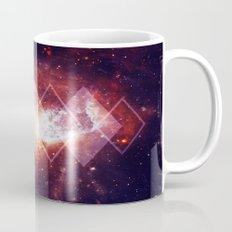 Shining Nebula - Red Mug