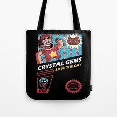 Crystal Gems Tote Bag