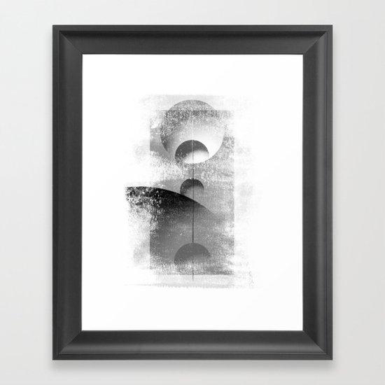 Align me not Framed Art Print