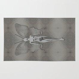Silver Leaf Fairy Rug