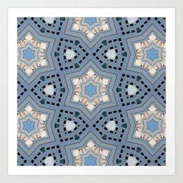 Oriental magic Art Print