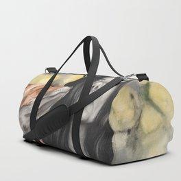 Fox & Flowers Duffle Bag