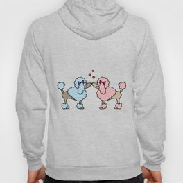 Poodle Dog Love Boy Girl Doggie Puppy Gift Present Hoody