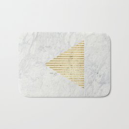 Trian Gold Bath Mat
