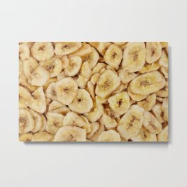 Banana chips Metal Print