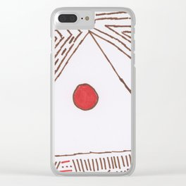 PowerLines 5 Clear iPhone Case