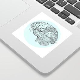 Brain Sticker
