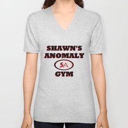 Shawn's Anomaly Gym Unisex V-Neck