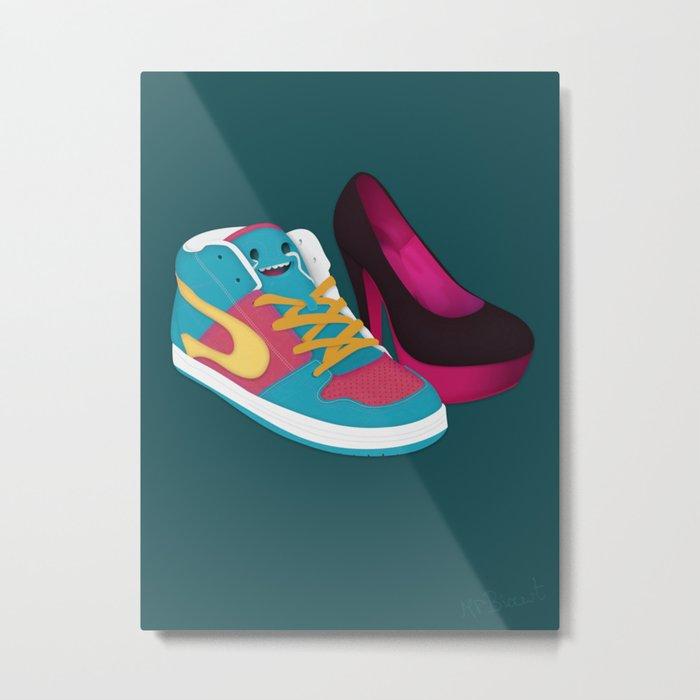 Shoe Lovin' Metal Print