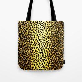 Leopard Print Animal Wallpaper Tote Bag
