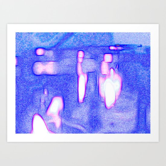 Marching Candles Art Print