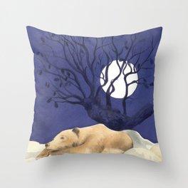 Sotto la quercia. Under the oak Throw Pillow