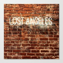 Lost Angeles Canvas Print