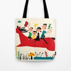 happy horse Tote Bag