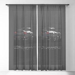 Supra MkV Sheer Curtain