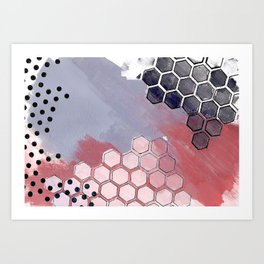 Mixed Afternoons Art Print