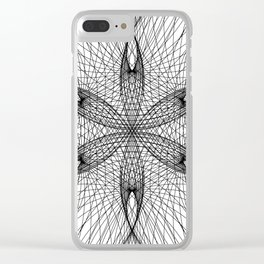 Sacred Geometry Flower - C11281 Clear iPhone Case