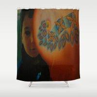 child Shower Curtains featuring Child by Nicholas Bremner - Autotelic Art