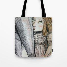 Dorothea face. Tote Bag