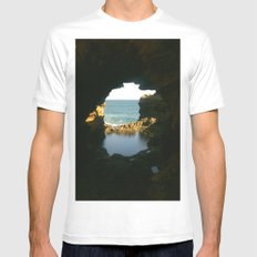 The Grotto White MEDIUM Mens Fitted Tee