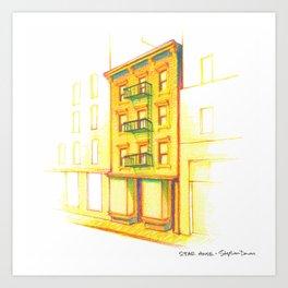 NYC Pride: STAR House Art Print