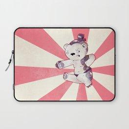 Sumo-Yakuza-Karate Bear Laptop Sleeve